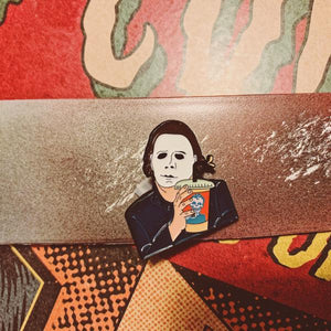 Rad Coffee - Enamel Pin - Michael Myers