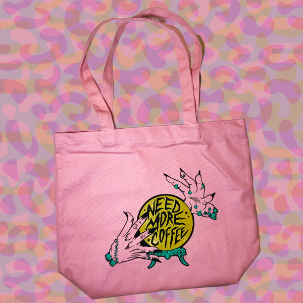 Rad Coffee - Need More Coffee Canvas Tote Bag