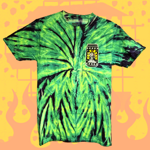 Rad Coffee - Neon Cold Brew Tie Dye Tee Shirt