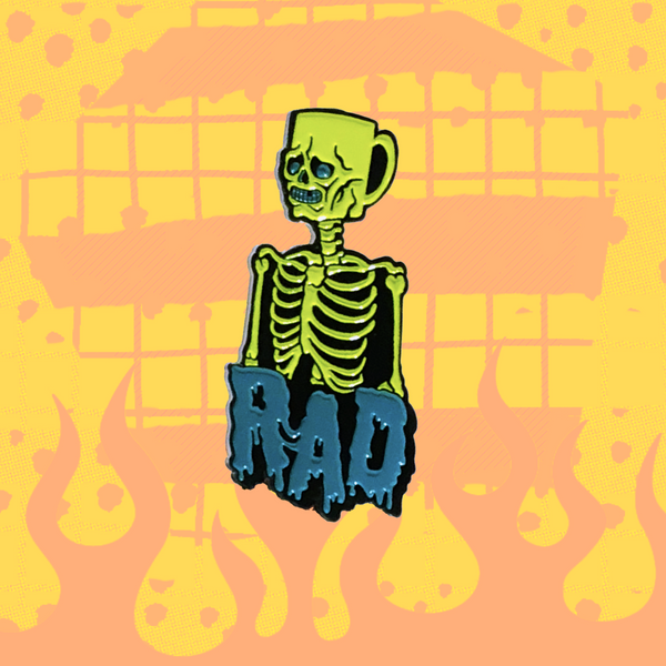 Rad Coffee - Coffee Head Lapel Pin