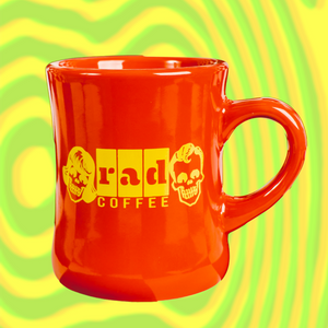 Rad Coffee - Red Diner Mug