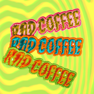 Rad Coffee - Wordy Patch Set