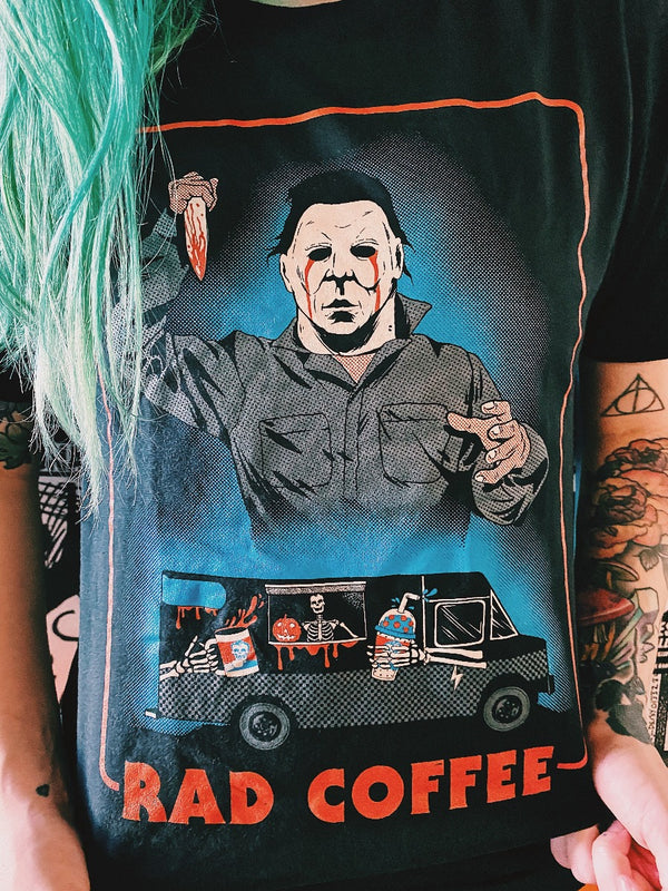 Rad Coffee Michael Myeres Tee