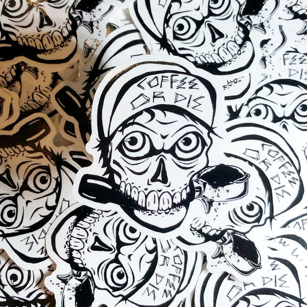 Rad Coffee - Sticker - Coffee or Die