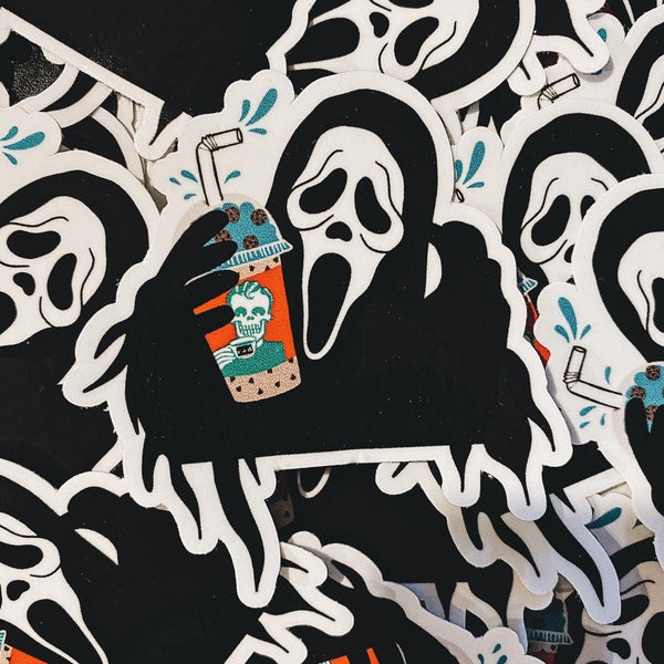 Rad Coffee - Sticker - Ghostface