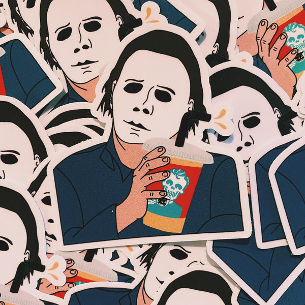 Rad Coffee - Sticker - Michael Myers Sticker