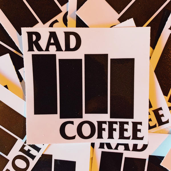 Rad Coffee - Sticker - Rad Flag