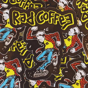 Rad Coffee - Sticker - Rad Jerks