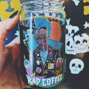 Rad Coffee - X Ray Can Glass