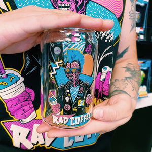 Rad Coffee - X Ray Can Glass -