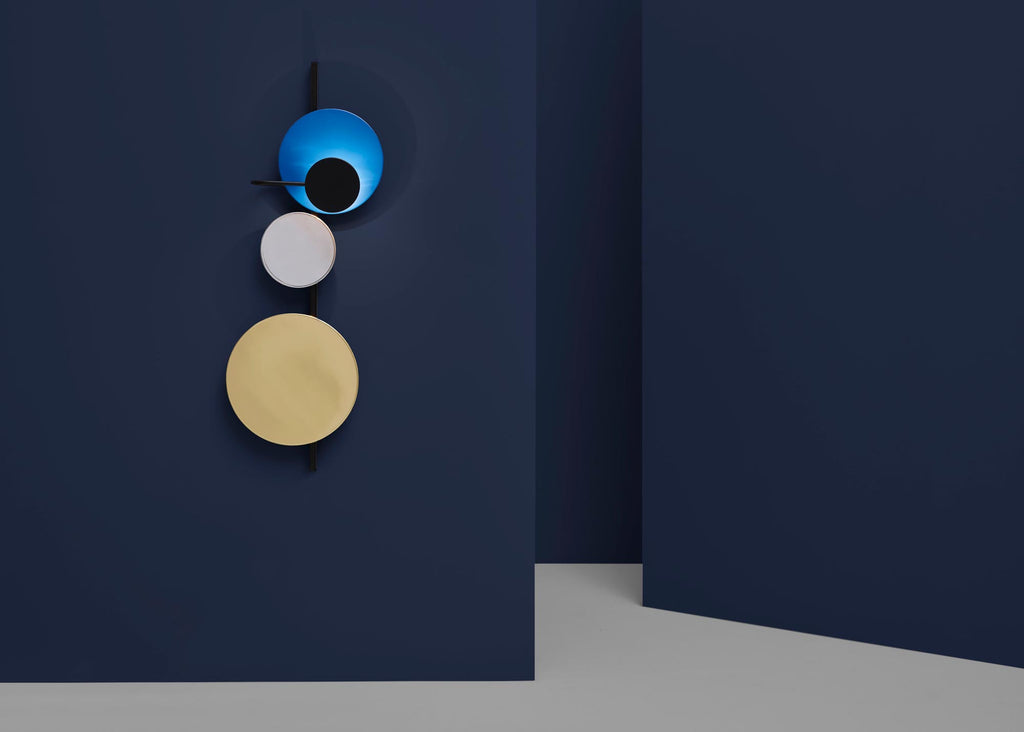 Planet Lamp Electric Blue by Mette Schelde - VELA.life
