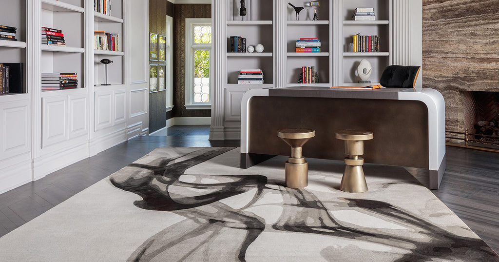 The Rug Company Smoke by Adam Hunter - VELA Life
