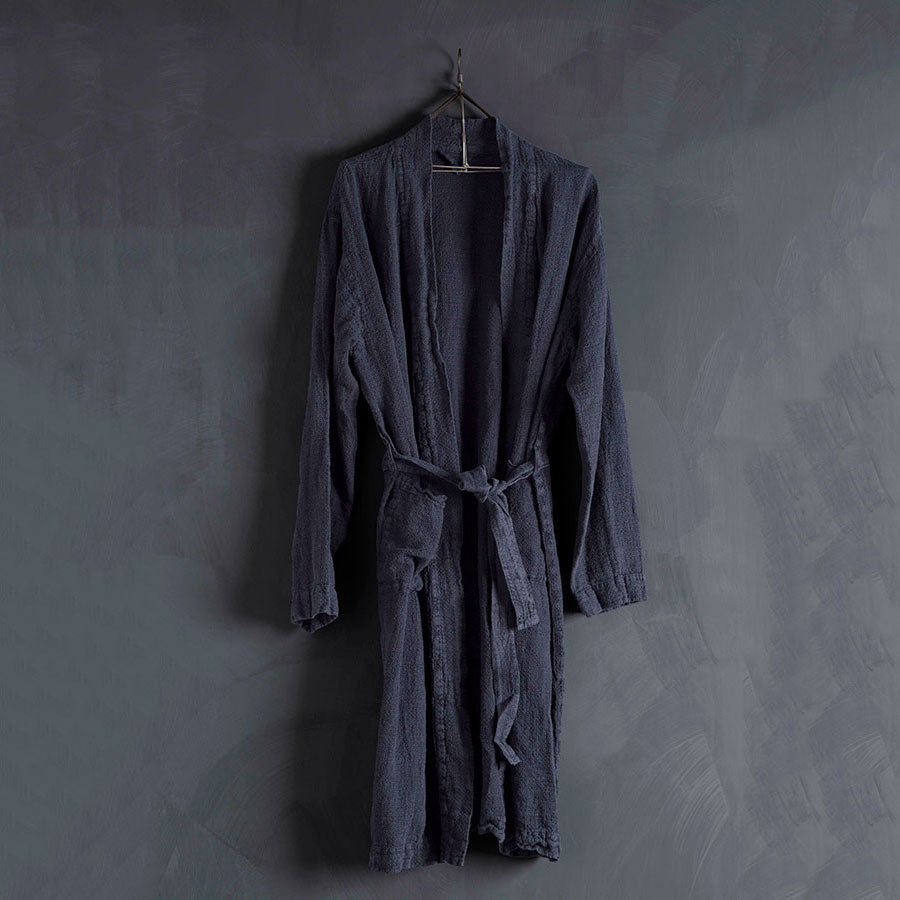 Linen Bathrobe by In The Sac - VELA.Life