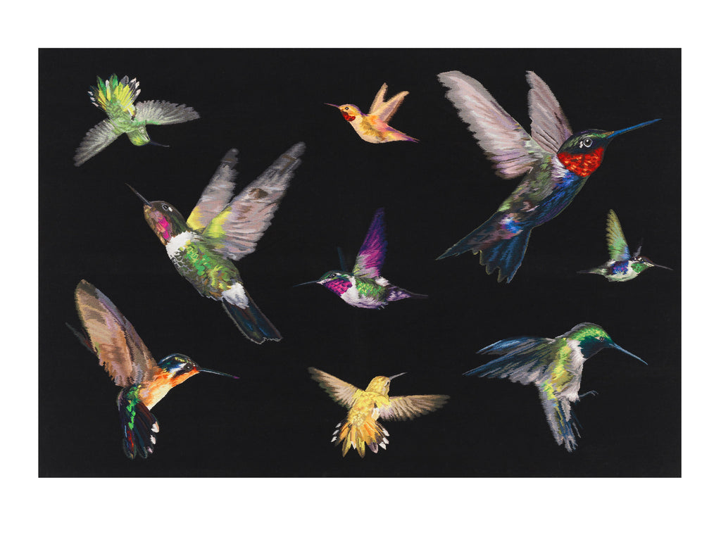 The Rug Company Hummingbirds By Alexander McQueen