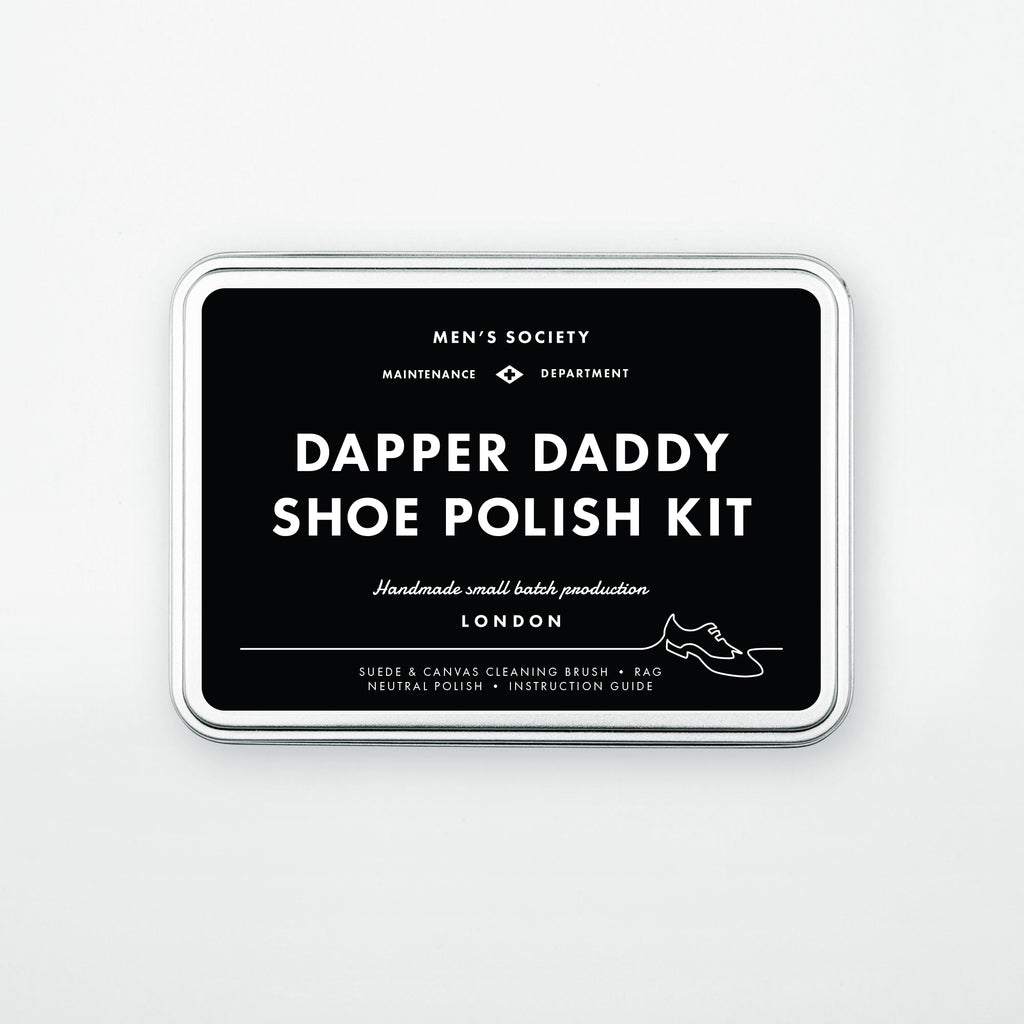 Dapper Daddy Shoe Polishing Kit - VELA Life