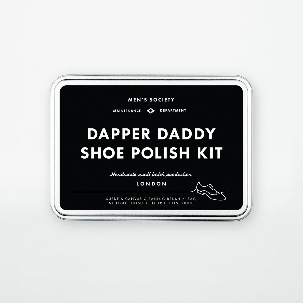 Dapper Daddy Shoe Polishing Kit by Men's Society - VELA.Life