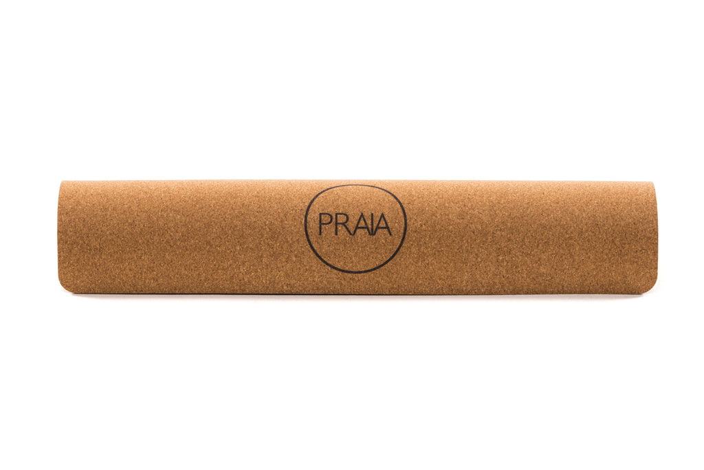 Natural Rubber Yoga Mat by Praia - VELA.life