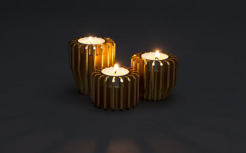 Radial Candle Holder