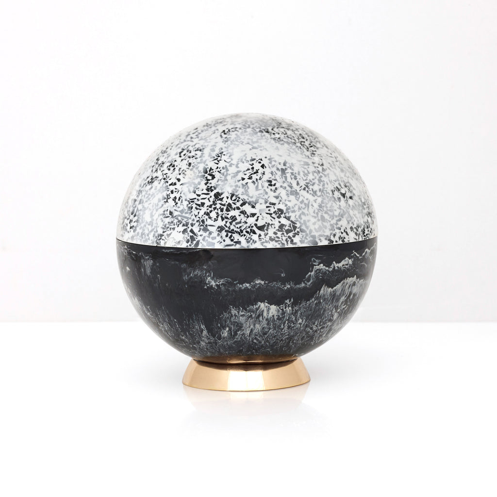 Large Orb in Ash by Studio Elke - VELA.life