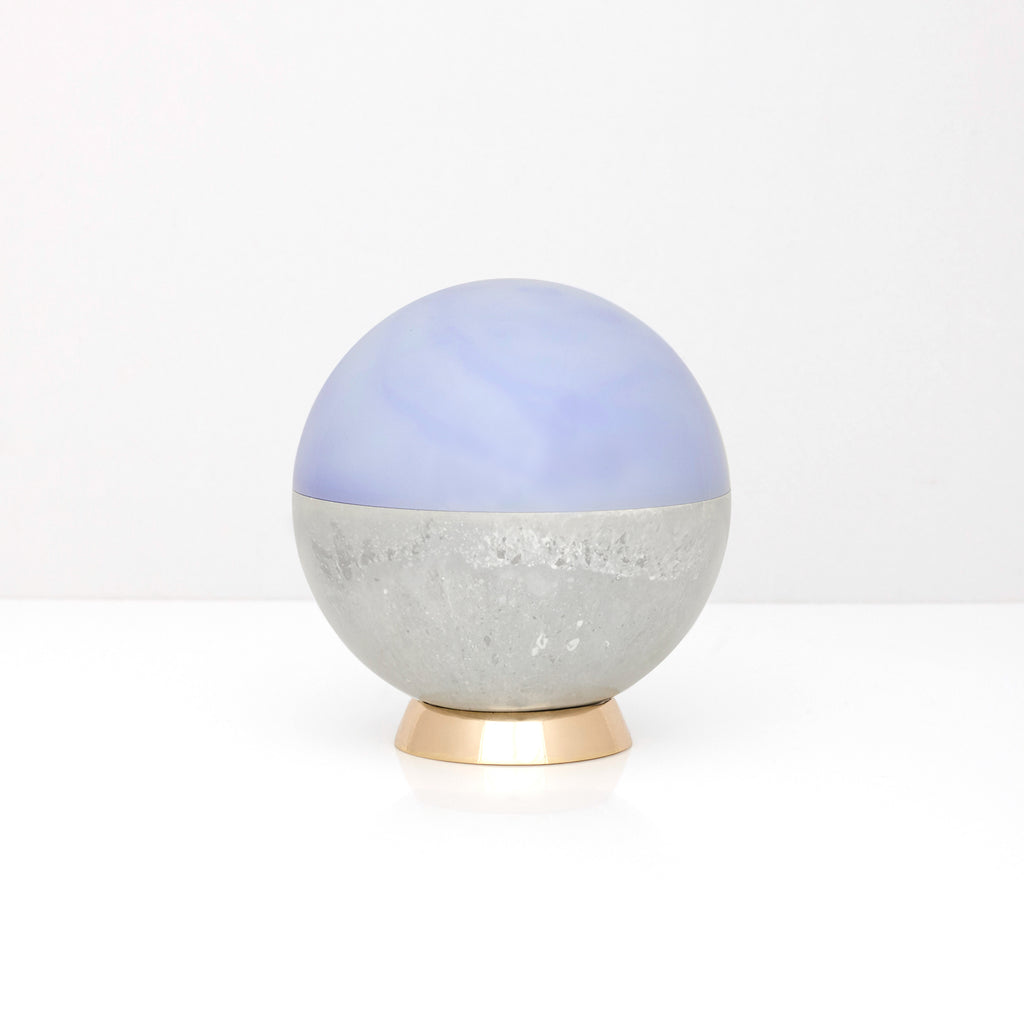 Small Orb in Blue Laced Agate by Studio Elke - VELA.life