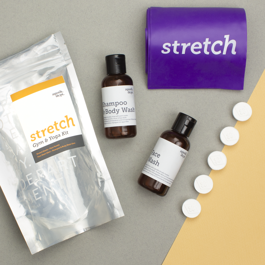 'Stretch' Yoga & Gym Shower Kit | VELA life - VELA Life