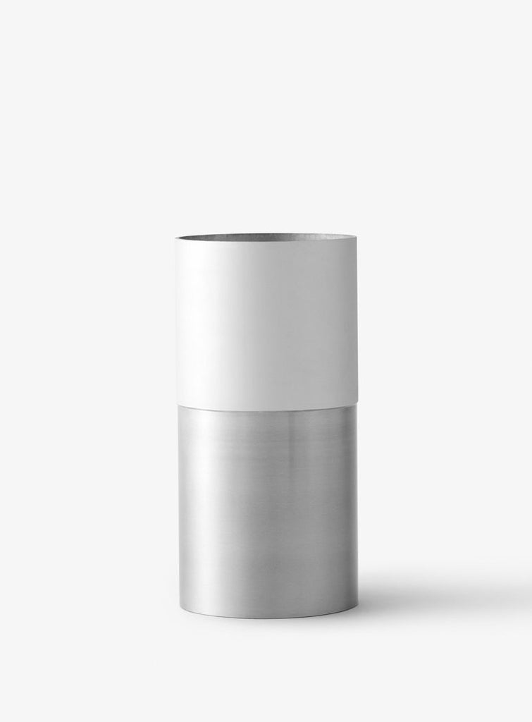 True Colour Vase White Aluminium by Lex Pott - VELA.Life