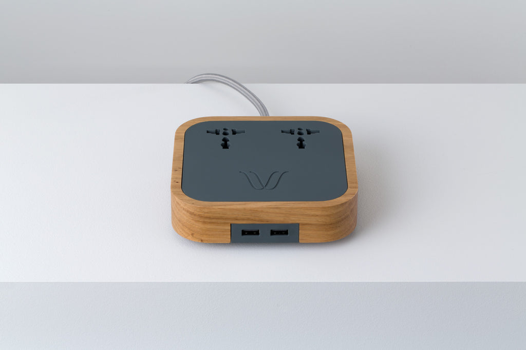 Woodie Wireless Charger Oak Wood
