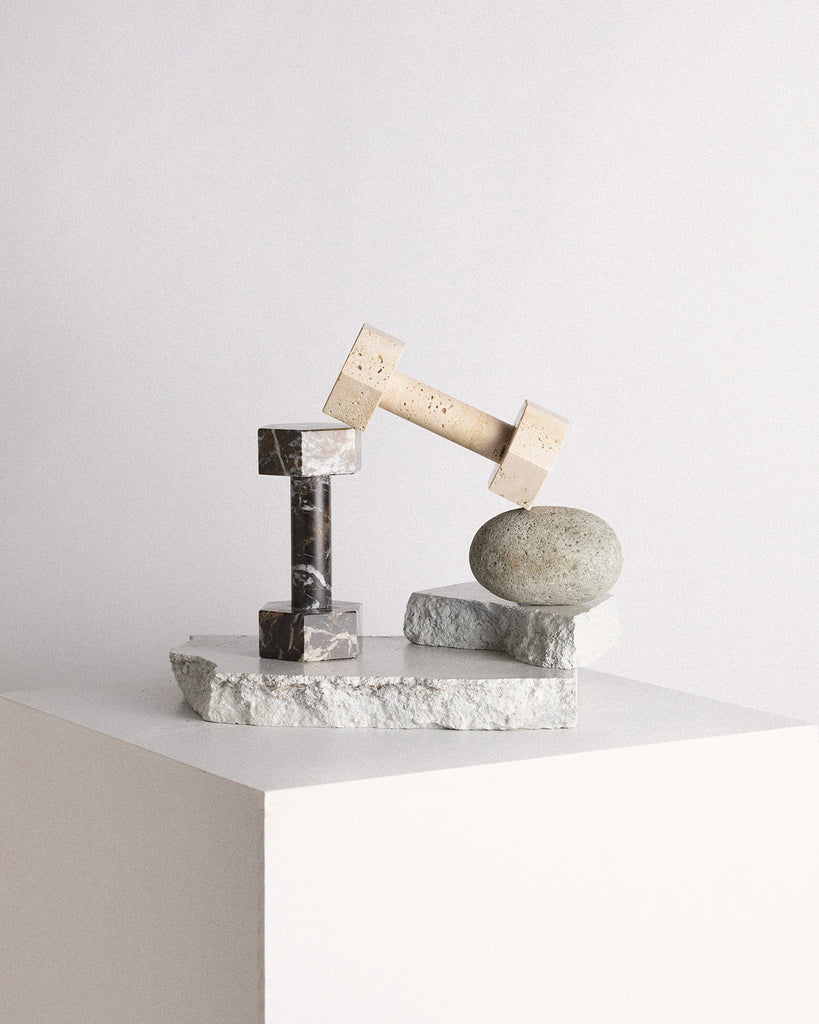 Marble Dumbbell by Addition Studio - VELA.Life