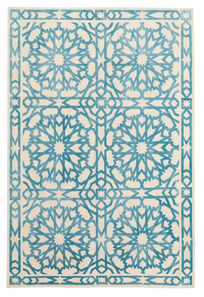The Rug Company Mamounia Sky by Martyn Lawrence Bullard