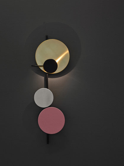 Planet Lamp Indian Red by Mette Schelde - VELA.life