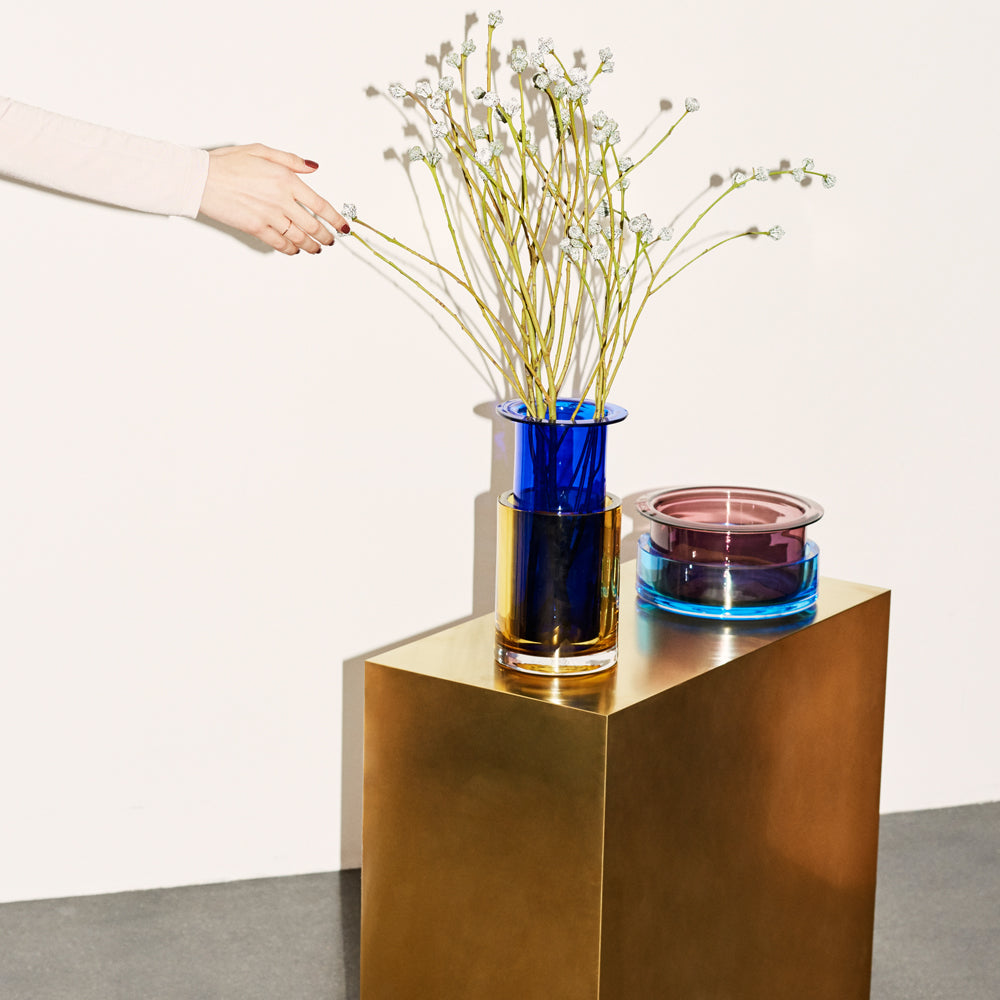 Tricolore Vase 3 by Sebastian Herkner for &tradition - VELA.life