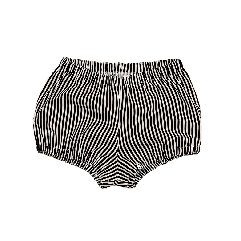 Vertical stripe shorties