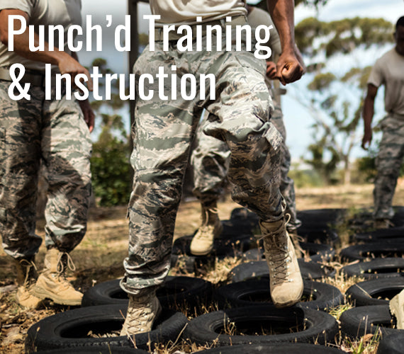 Punch'd Training & Instructions