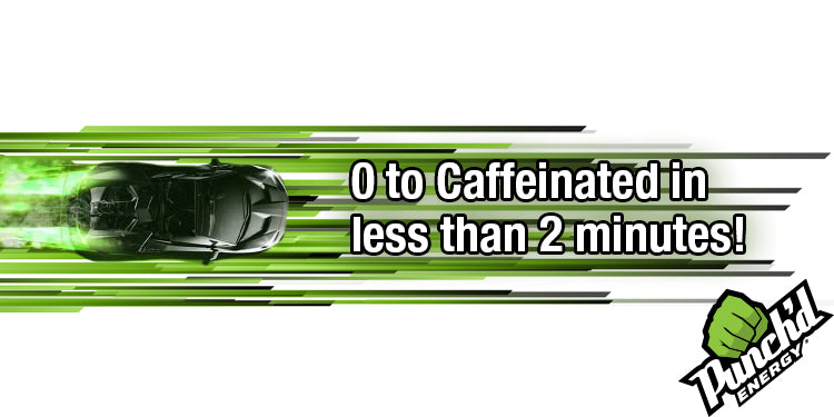 0 to Caffinated in less than 2 minutes