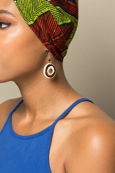 Kenya Cirlce Earrings