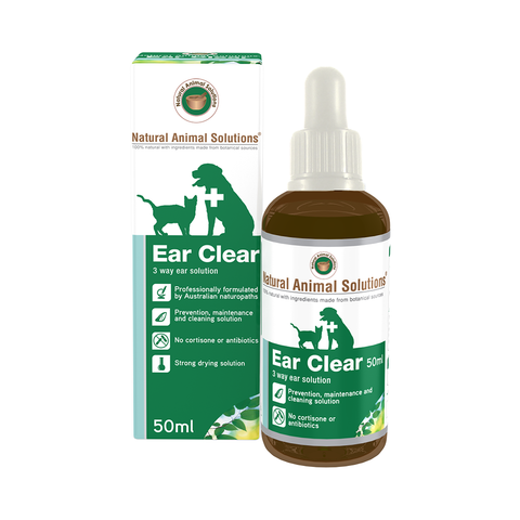 Natural Animal Solutions Ear Clear (50ml)