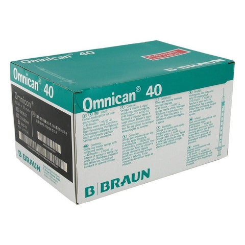 Caninsulin Syringes (Omnican Braun) 1ml 40IU/ml (100 pack)