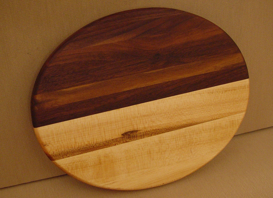 Maple Walnut Ellipse Straight - Chopping Blox - 1