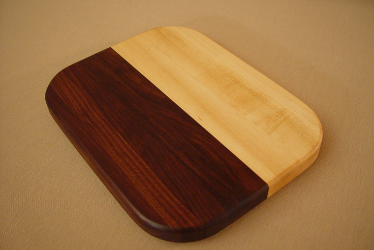 Maple / Walnut Square Straight - Chopping Blox - 1