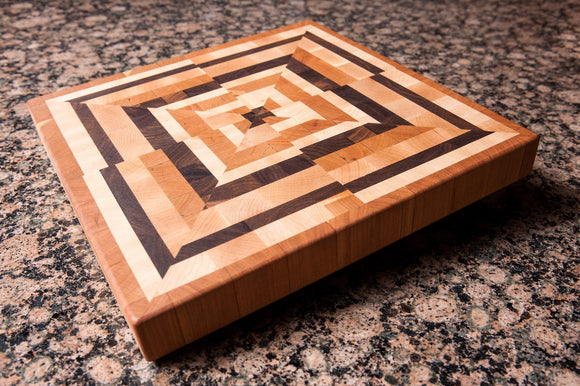 Abstrax© - Walnut - Chopping Blox - 1