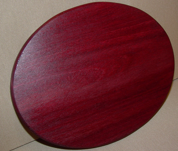 Purpleheart Ellipse - Chopping Blox - 1