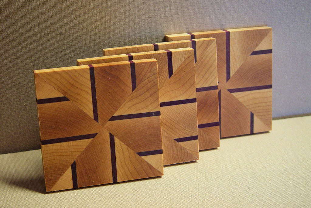 Coasters - Alternating Lines - Chopping Blox - 1