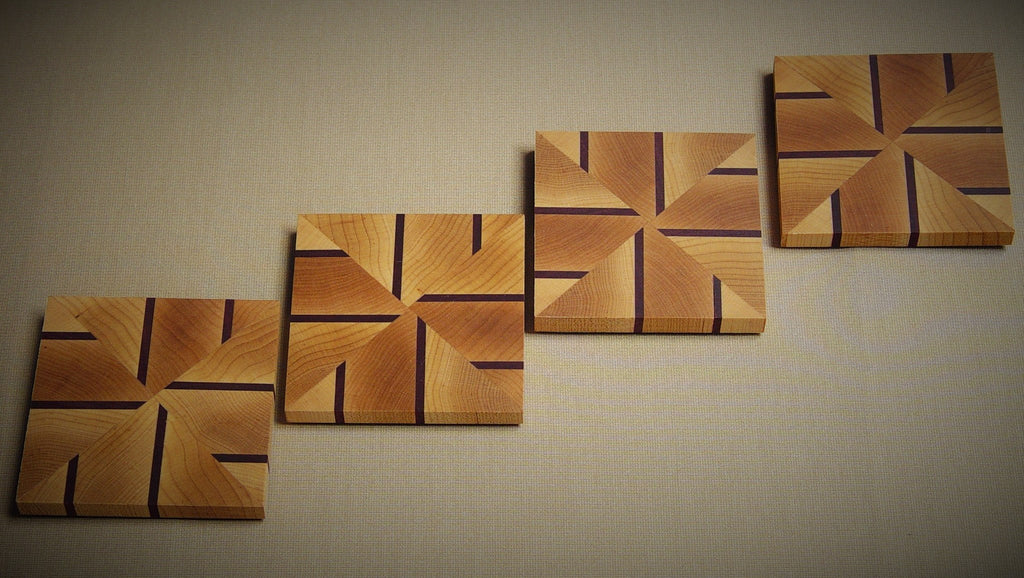 Coasters - Alternating Lines - Chopping Blox - 2
