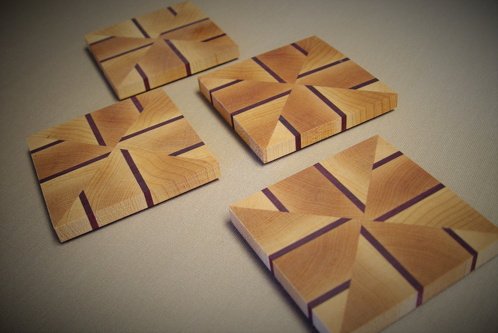 Coasters - Alternating Lines - Chopping Blox - 3