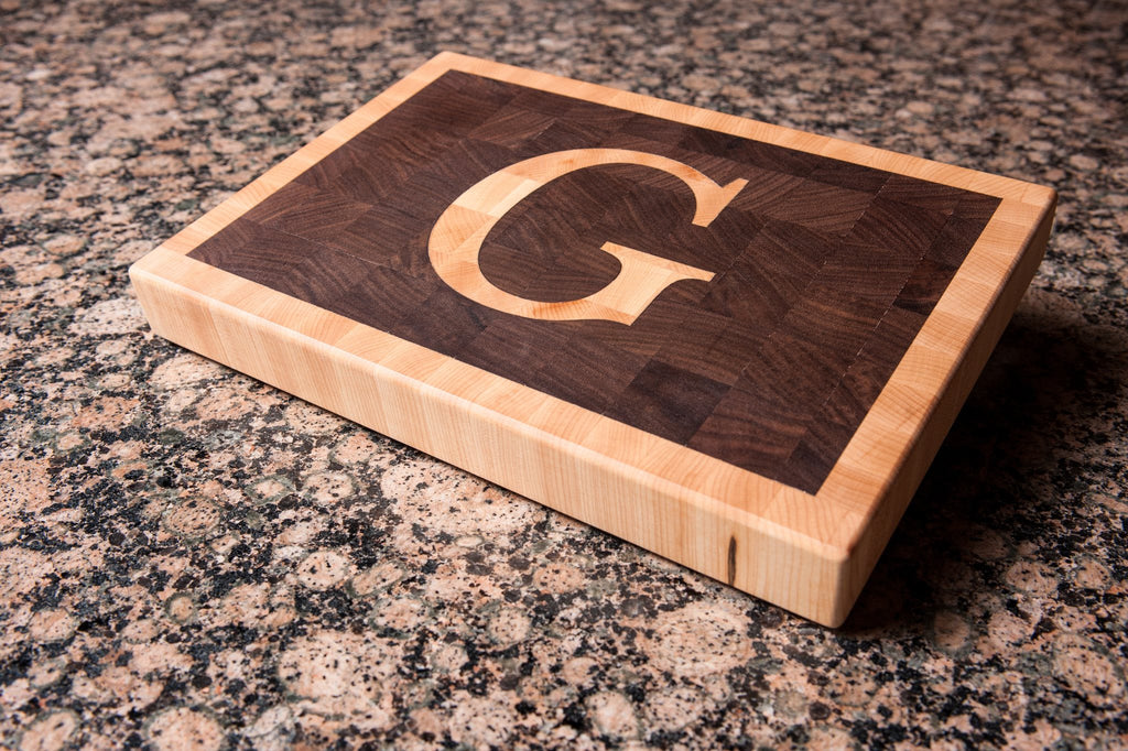 Letter Deluxe - Walnut - Chopping Blox - 2