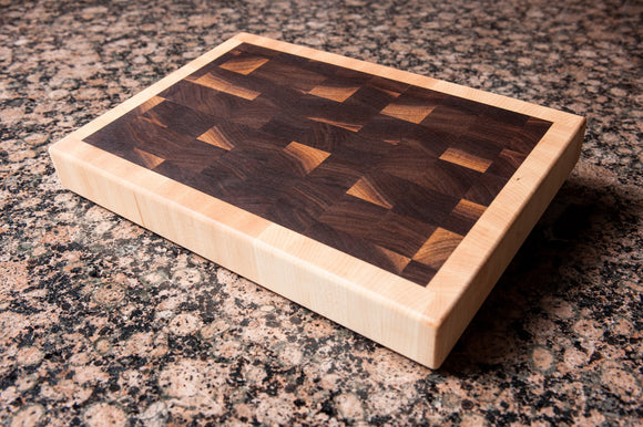 Simplex Deluxe - Walnut - Chopping Blox - 1
