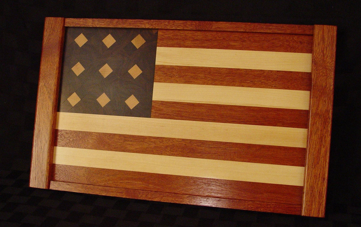 American Flag Serving Tray - Chopping Blox - 1