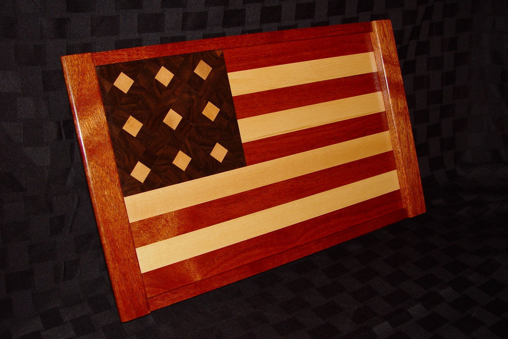 American Flag Serving Tray - Chopping Blox - 2