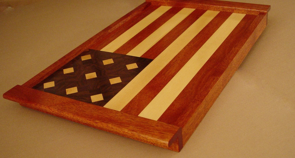 American Flag Serving Tray - Chopping Blox - 3