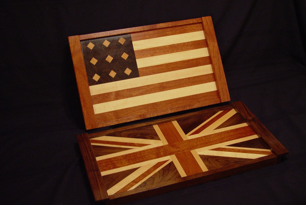 American Flag Serving Tray - Chopping Blox - 4